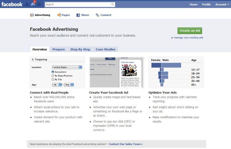 Facebook ads picture
