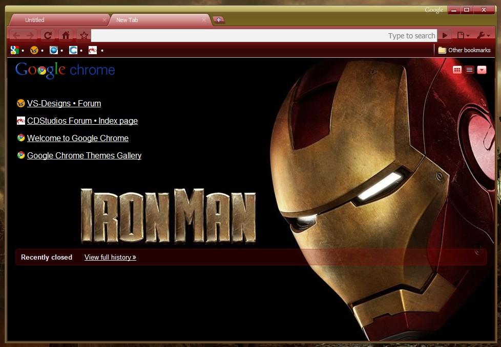 5 teme cu super eroi pentru Google Chrome (3/5)