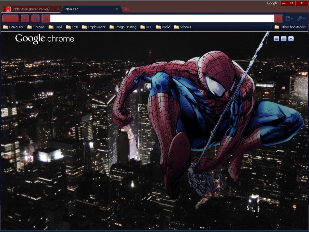 5 teme cu super eroi pentru Google Chrome (1/5)