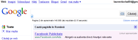 facebook ads promovat pe google adwords