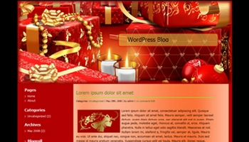 christmas wordpress