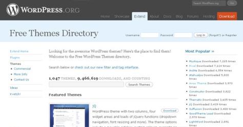 Wordpress.org – Themes