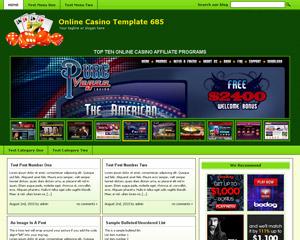 Online Casino Template 685