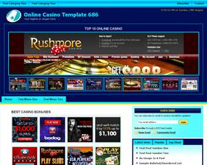 Online Casino Template 686