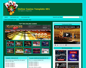 Online Casino Template 691