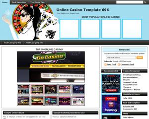 Online Casino Template 696