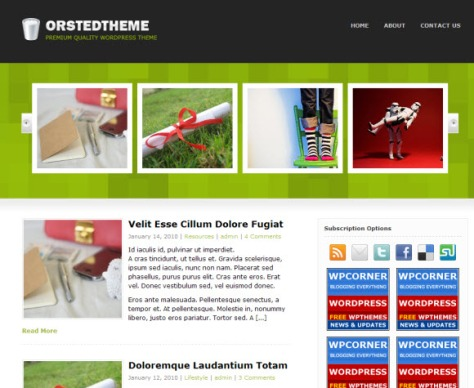 Orsted Theme