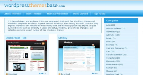 Wordpress Themes Base