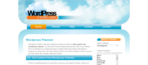 Wp Theme Land