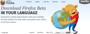 Firefox 6.0 beta