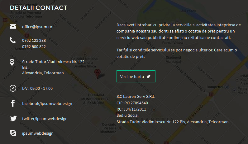 contact web design alexandria